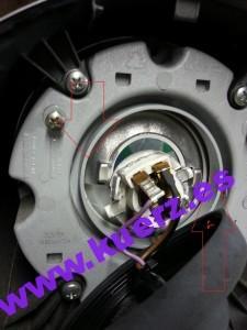 Lampenfassung Vespa LX