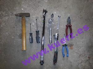 benötigtes Werkzeug